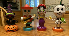 Solar Powered Dancing Bobblehead Toy New  For 2020- Set 4 Halloween