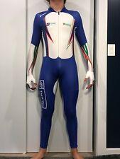 RARE Mens speedskating speed skating Rubber suit Italy Italian National Team