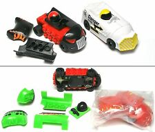 2014 Micro Scalextric Quick-Build Bash n Crash HO Slot Car NEW PAIR+
