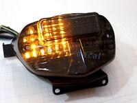 Integrated LED Tail Light Suzuki GSXR 600 2001 2002 2003 Brake Turn Signal Smoke