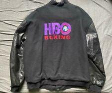 Men's vtg Primetime HBO Sports World Championship Boxing varsity jacket size XL