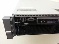 Lot of 10x Dell Poweredge R710 Barebone Servers w/ Motherboard, 2x PSU, 8x 2.5