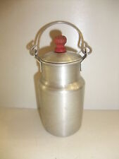 Puppenstube Kaufmannsladen Küchen Zubehör Milchkanne Milchkrug Blechspielzeug