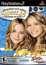 Mary-Kate and Ashley: Sweet 16 -- Licensed to Drive (Sony PS2, 2002) SKU 3208
