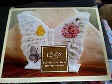Lenox Butterfly Meadow Napkin Holder Porcelain NEW IN BOX