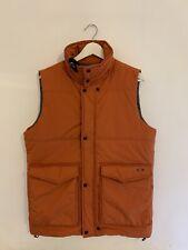 MA Strum Gilet Bodywarmer Brand New With Tags Orange Medium With Detachable Hood