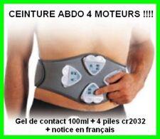 Ceinture de musculation abdo/fessier 4 moteurs