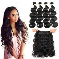 Brazilian Body Wave 1-3 bundles Weave Weft 100% Virgin human hair extensions