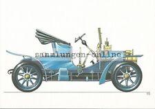DIXI R 8 1908 Dibujo Gráfico POSTALES AK COCHE IMAGEN DE COLECCIÓN ANTIGUO