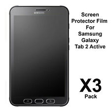 """Samsung Galaxy Tab Active 2 8"""" Screen Protector Matte Film Guard For Tab Active2"""