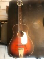 1969 BARCLAY Stella Harmony H929 signed by Kris Kristofferson.
