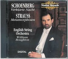 Schoenberg/Strauss - Verklarte Nacht/Metamorphosen - 1988 CD