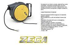 Avvolgicavo a rullo prolunga di corrente 15 metri Zeca articolo AM40/315