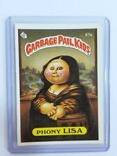 1985 Garbage Pail Kids OS2, #67a - PHONY LISA