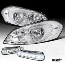 2006 2015 Chevy Impala 2006 2007 Monte Carlo Clear Headlightsled Fog Lamps Fits 2006 Impala
