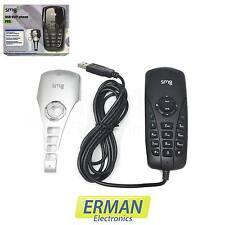 Telefono Voip SMG P6S USB per chiamate Skype / Voip
