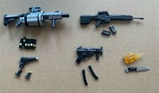 18pcs Punisher Weapons Accessories Guns Rifles for 6