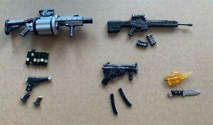 "18pcs Punisher Weapons Accessories Guns Rifles for 6"" Action Figure 1:12 Mezco"
