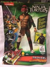 Teenage Mutant Ninja Turtles Medium Child Deluxe Muscle Costume With Mask