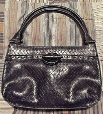 Small Black Relic 2 Strap Retro woven Retro toggle Handbag New WOT