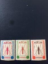 Dubai Stamps 1963 MNH Malaria Eradication