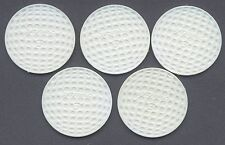 5 White Titleist Poker Chips - Golf Ball Markers - Special promotion poker chips