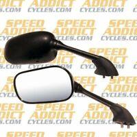 Emgo 20-80542 OEM Left Side Mirror Black Fits 2004-2006 Yamaha YZF R1