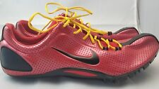 Nike Size 15 Red Track and Field Shoes Bowerman Series Zoom Rivals Cleats