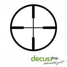 Fadenkreuz Target Cross Ziel // Sticker JDM Aufkleber Frontscheibe