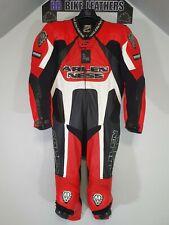 Arlen Ness Kangaroo - One 1 Piece Race Leathers Suit - M / EU 52 / UK 42 - Red