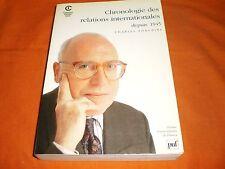 charles zorgbibe CHRONOLOGIE DES RELATIONS INTERNATIONALES  DEPUIS 1945