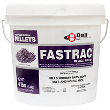 Rodent Rat Mouse Killer Pellet Bait Fastrac Place Paks Bromethalin 121 Place Pak