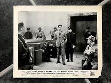 THE PURPLE HEART Vintage 1944 2nd WORLD WAR II 2 Movie Film Photo PHILIP AHN