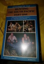 Hunting the South Pacific Part One (VHS, 1991) Sportsmen on Film