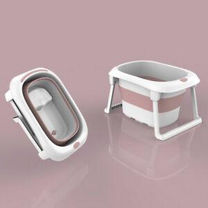 Tub Bath Bathtub Portable Folding Baby Child Warm Bucket PVC Foldable Shower Kid