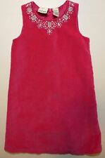 Hooray Cynthia Rowley Toddler Girl's Size 48 Months 4T Pink Velour Jumper Dress
