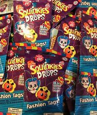 Squinkies Do Drops Fashion Tags and Squinkie and Sticker 100 Packs