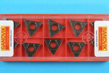 10 Sandvik CNC Tornio Tornitura in metallo duro rivestito Inserisce Tcmt 16T308-PM - grado 4335