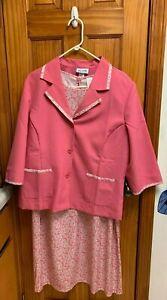 Blair 2 piece Pink  Dress suit size large