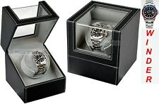 Luxury Display Single Automatic Watch Winder model: Orion-1LGV