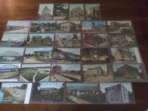 PITTSBURGH PA ~ Antique & Vintage Postcards ~ LOT Of 28 ~ Very Nice!