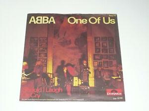 "ABBA Schallplatte Vinyl Single 7"" One Of Us"