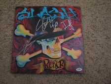 SLASH DUFF McKAGAN MYLES KENNEDY SIGNED ALBUM psa/dna