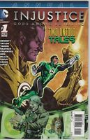 Injustice Gods Among Us Year Two 5 BOOK LOT 5,6,8,12 W/ Annual #1 DC  (B211)