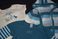 Gymboree My Best Friend 3 pc Set Size 9 12 Long Sweater Top T Shirt Outfit Blue