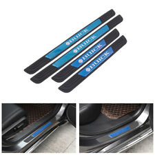 4PCS Black Rubber Car Door Scuff Sill Cover Panel Step Protector For Buick