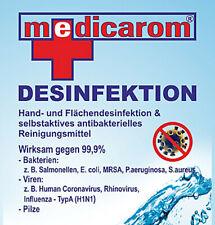 1,5 Lit. MEDICAROM selbstaktives, antibakterielles Reinigungsmittel Desinfektion