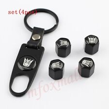 Auto Parts Tyre Tire Air Valve Wheel Cap Cover For Villain Transformers Autobot