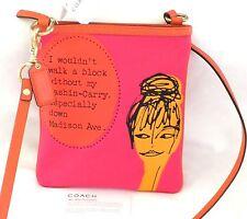 NWT COACH Bonnie Cashin Nova Novelty Print Swingpack Crossbody Bag Purse #42605