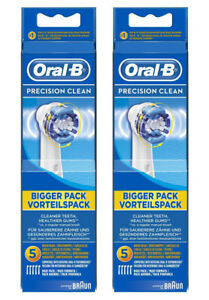 Braun Oral B PRECISION CLEAN Replacement Electric Toothbrush Heads x10